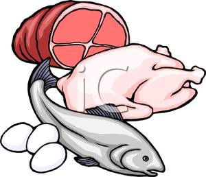 Clip Art Meats Protein Clipart.