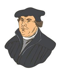 Protestant Reformation clip art.