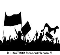 Protester Clip Art Vector Graphics. 1,312 protester EPS clipart.