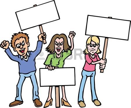 407 Protesters Cliparts, Stock Vector And Royalty Free Protesters.