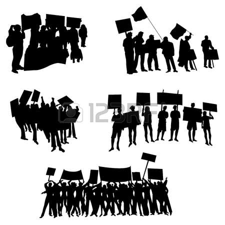 446 Protesters Cliparts, Stock Vector And Royalty Free Protesters.