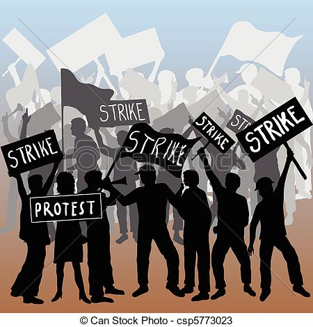 protest clipart #protest_march.