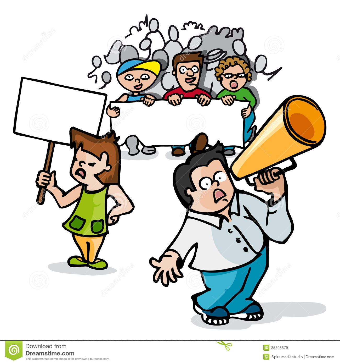 protest clipart #rally.