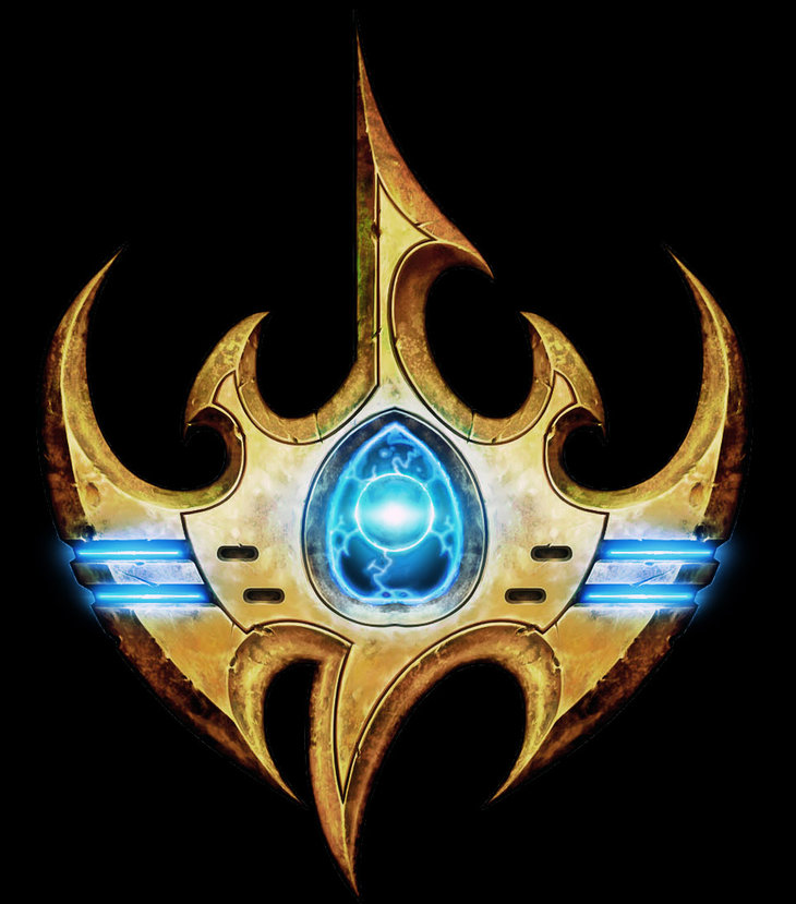 Different Protoss logo.