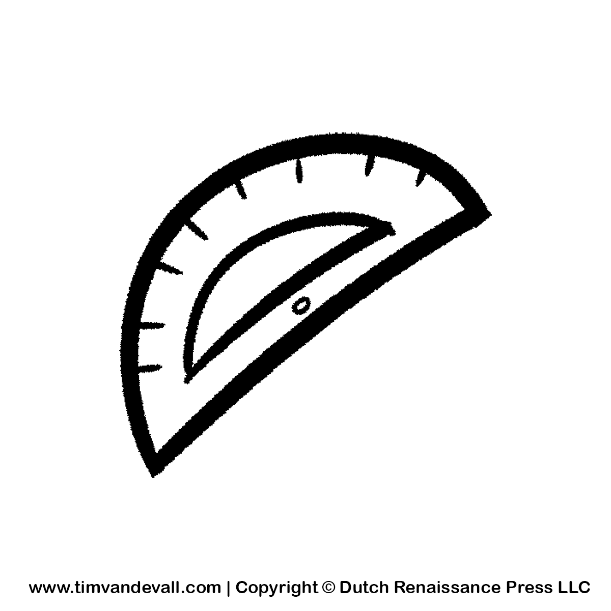 Protractor clipart - Clipground