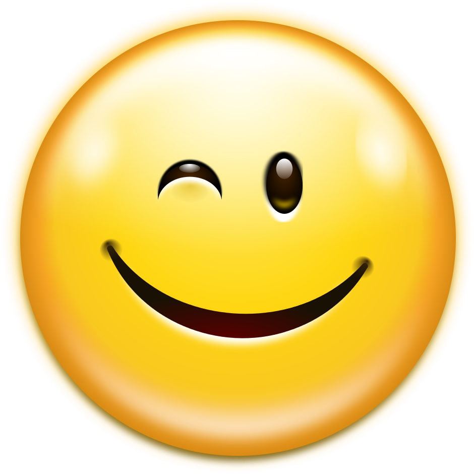 File Oxygen480 Emotes Face Wink Svg Wikimedia Commons.