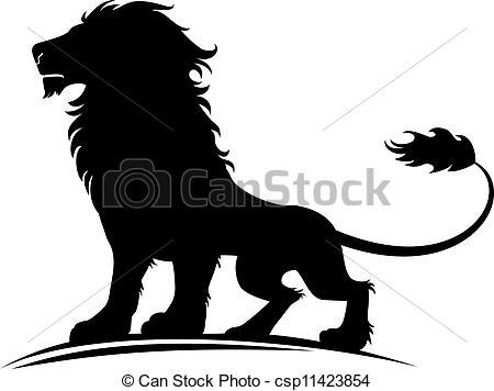 Stock Illustrations of Lion.