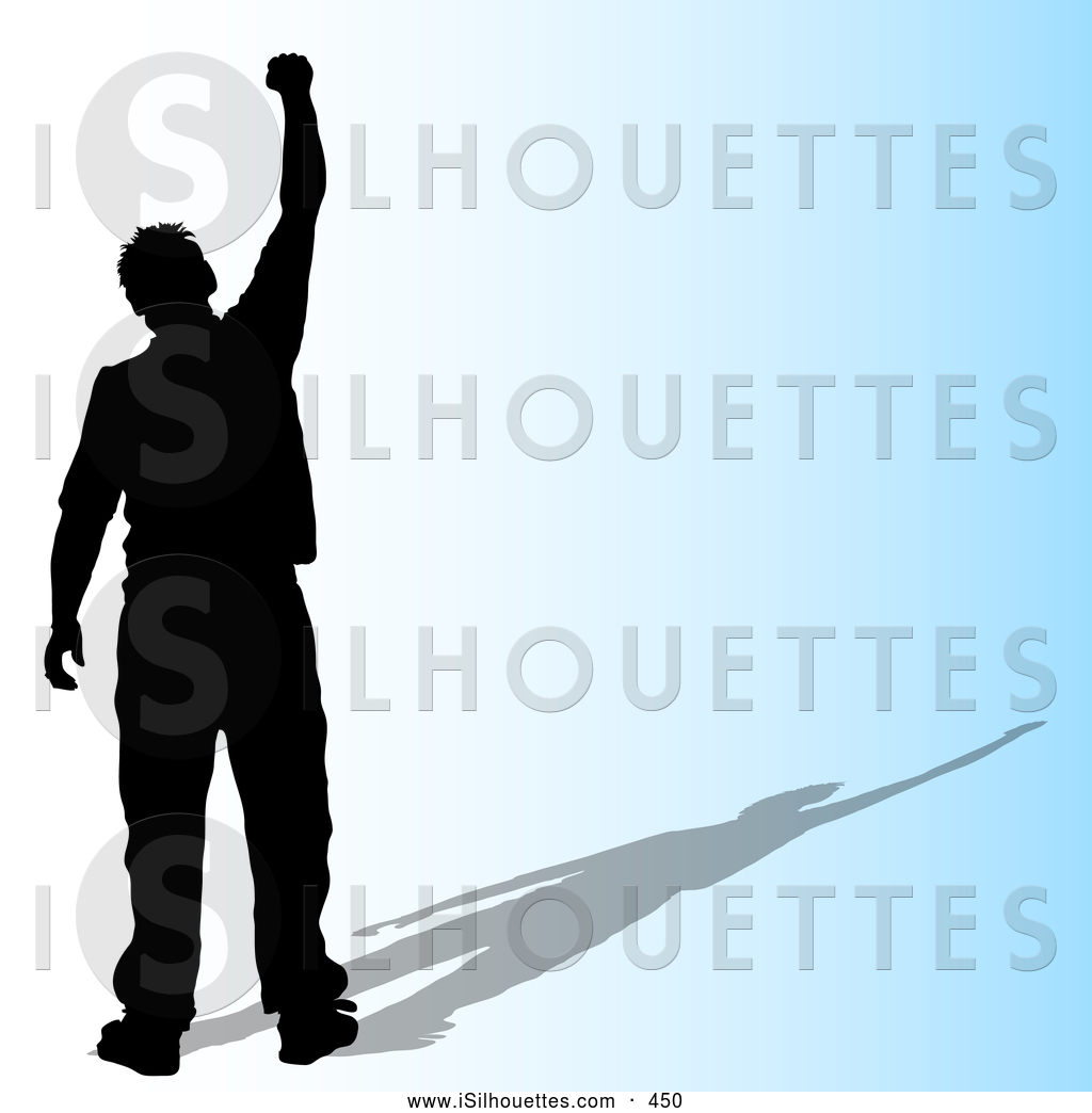 Royalty Free Proud Stock Silhouette Designs.