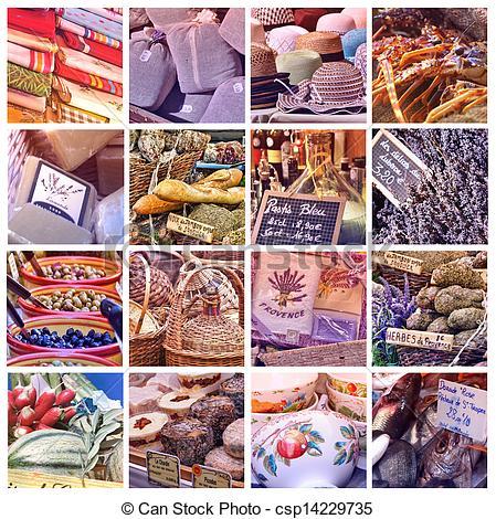 Stock Photos of Provence Market.