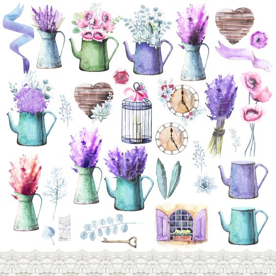 Watercolors, Creative and Provence on Pinterest.