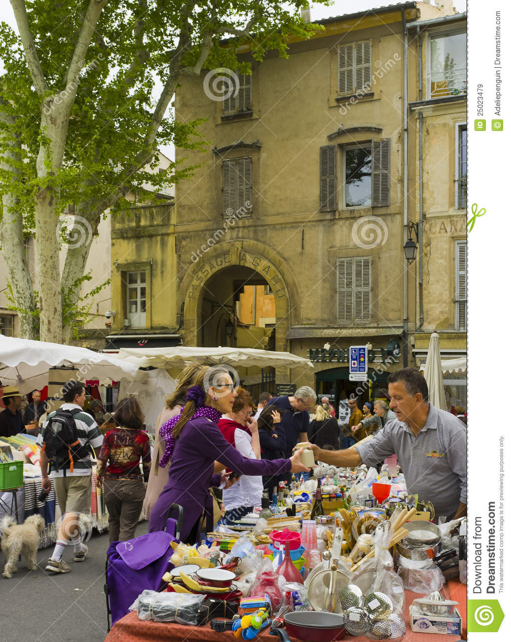 Outdoor Market, Aix.