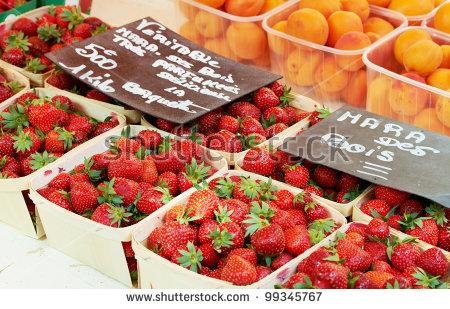 Provence Market Stock Photos, Royalty.