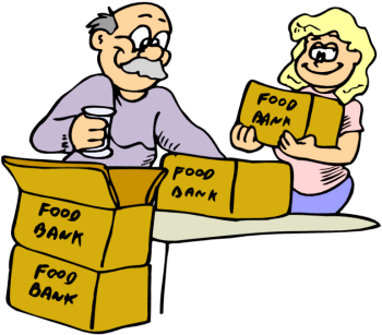 Food Bank Clipart.