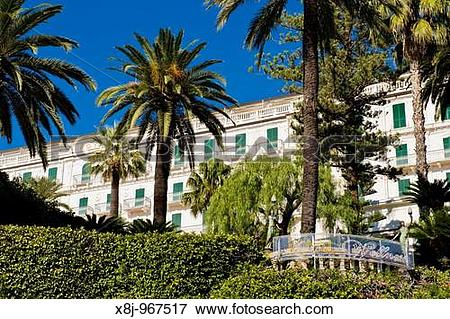 Picture of Royal Wellness hotel, Sanremo, Imperia province, Italy.