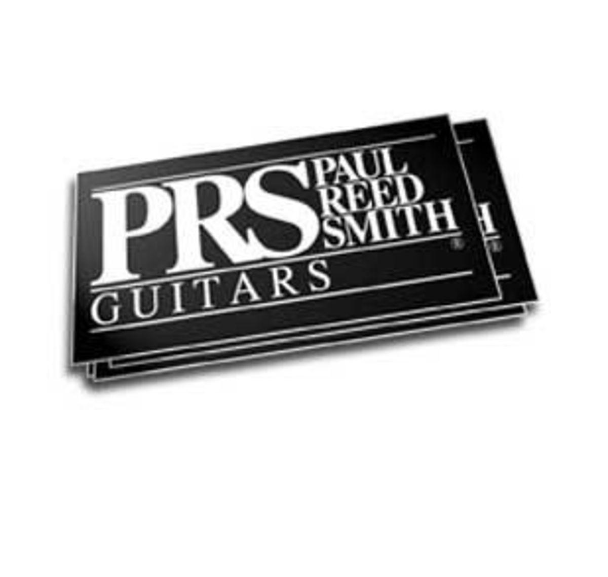 PRS Logo Sticker.