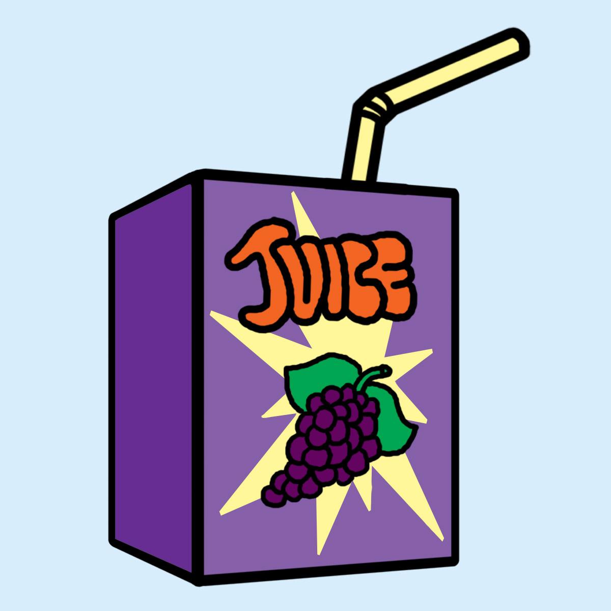 Clip Art: Prune Juice Color.