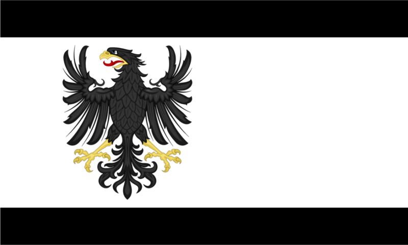 Flag of the Republic of Prussia by TiltschMaster on DeviantArt.