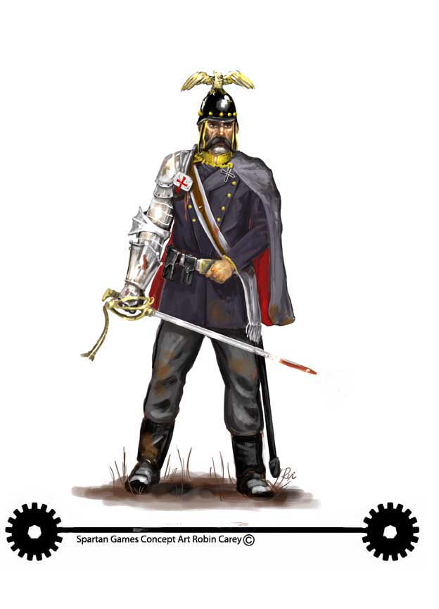 Prussian officer clipart #7