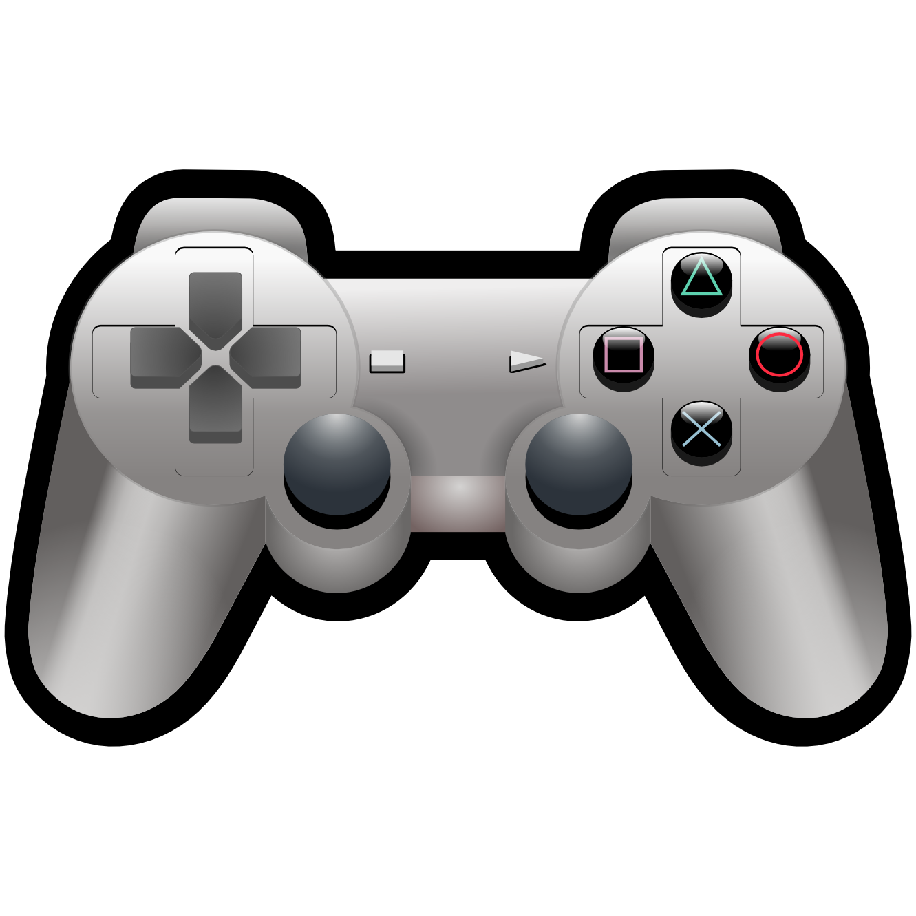 Similiar Playstation Game Controller Clip Art Keywords.