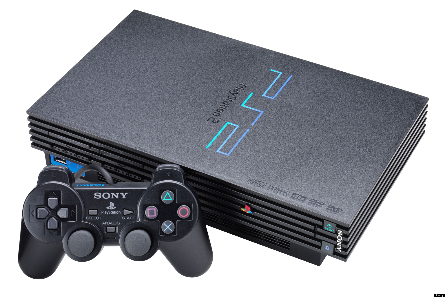 PlayStation 2 PNG Transparent Images.