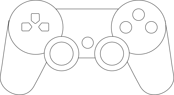 Ps3 Controller Outline.