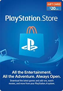 Amazon.com: $20 PlayStation Store Gift Card [Digital Code.