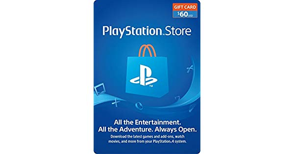 Amazon.com: $60 PlayStation Store Gift Card [Digital Code.