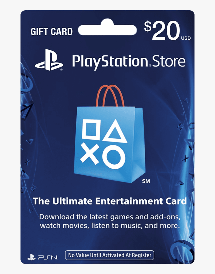 Ps4 Gift Card 50, HD Png Download.
