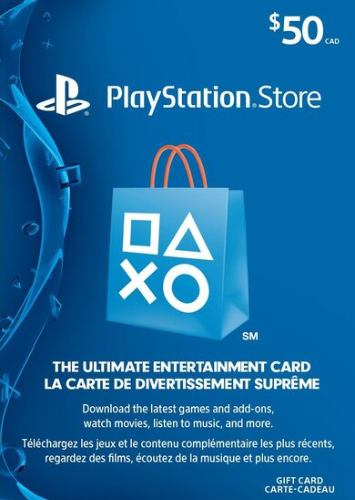Buy PlayStation gift card at the best price.