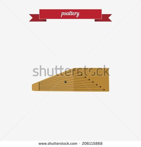 Psaltery Stock Vectors & Vector Clip Art.