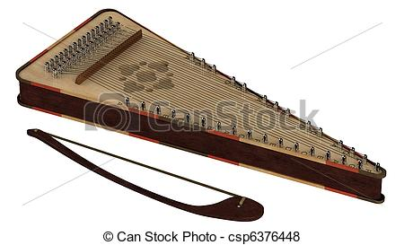 Psaltery Clipart and Stock Illustrations. 26 Psaltery vector EPS.