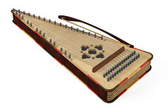 Psaltery Gusli Isolated Stock Photos.