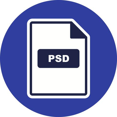 PSD Vector Icon.