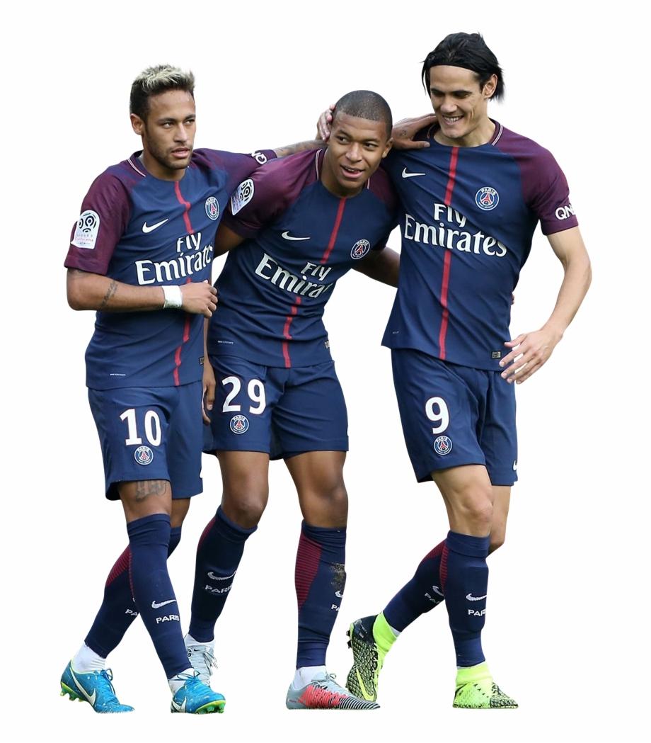Neymar, Mbappe, Cavani Png Www.