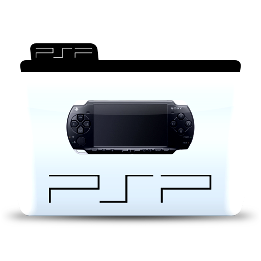 Psp, folder, file Icon Free of Colorflow Icons.