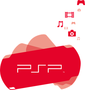 Sony PSP Logo Vector (.CDR) Free Download.
