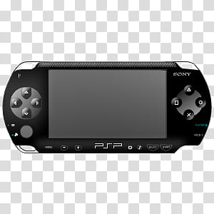 Ultimate Console Sykons, PSP (Black) icon transparent.