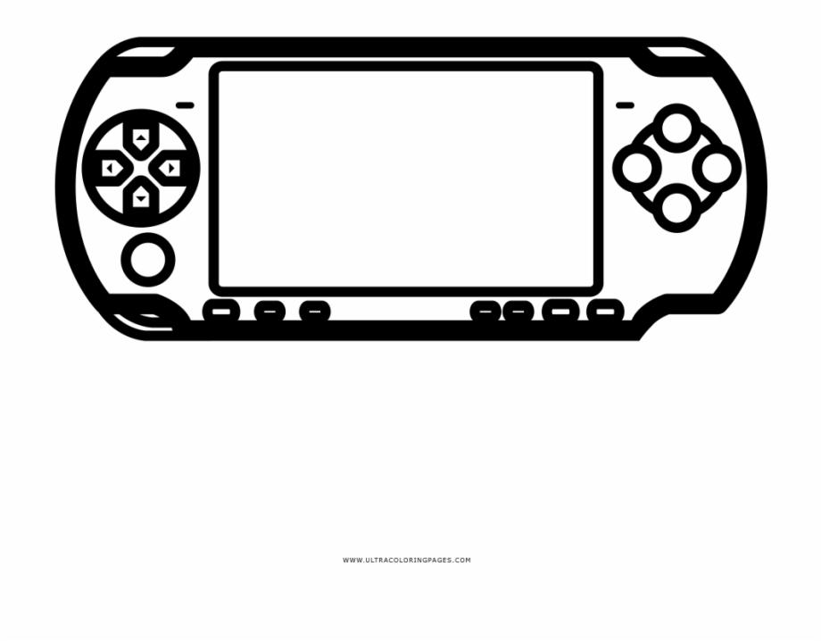 Video Game Console Imagenes De Psp Para Dibujar.