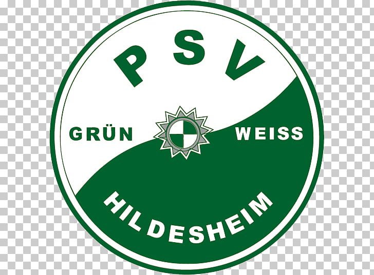 PSV Green White Hildesheim e.V. Association Football Logo.