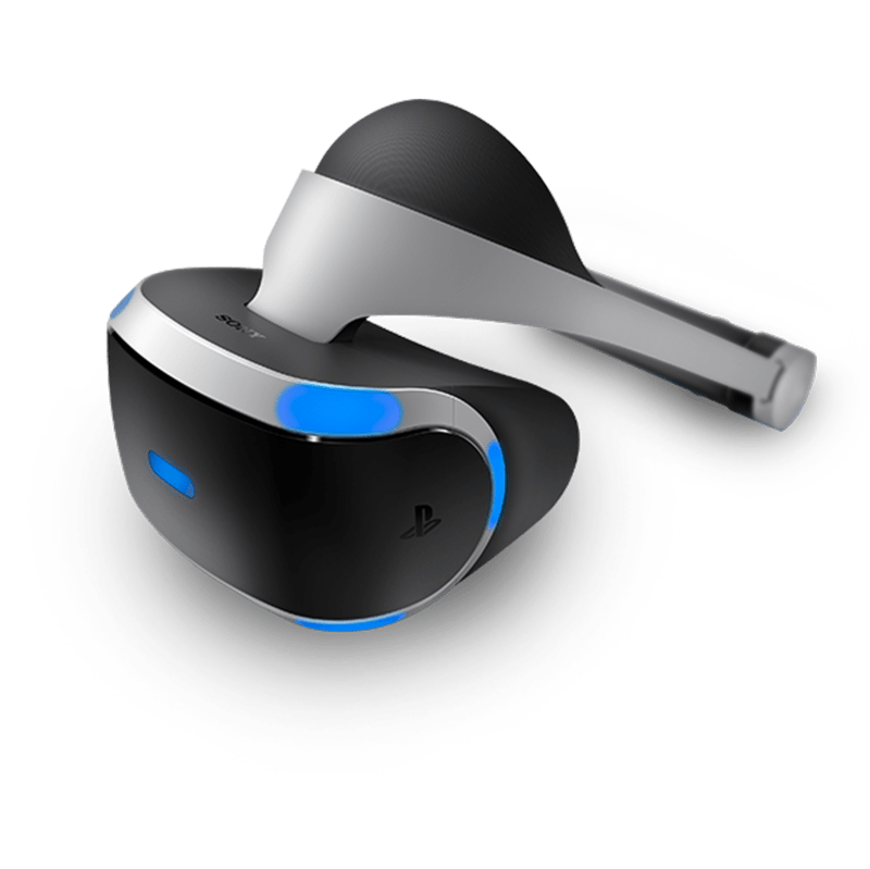Playstation VR Top View transparent PNG.