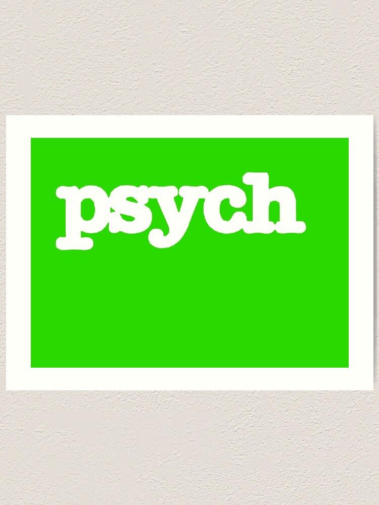 Psych Logo.