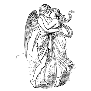Cupid And Psyche Clipart.