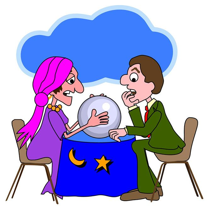 Free color psychic clipart images.