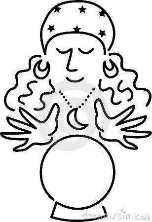 Psychic graphics clipart.