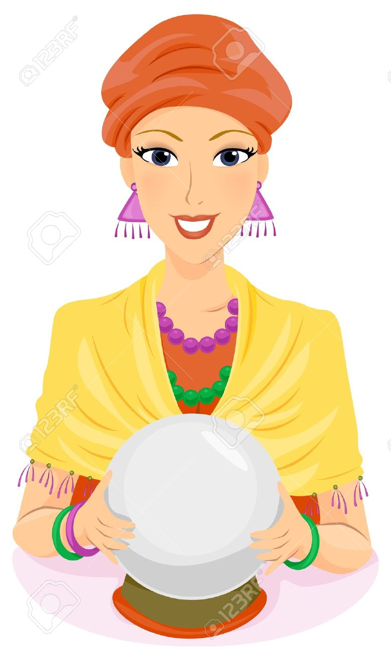 Free psychic clipart.