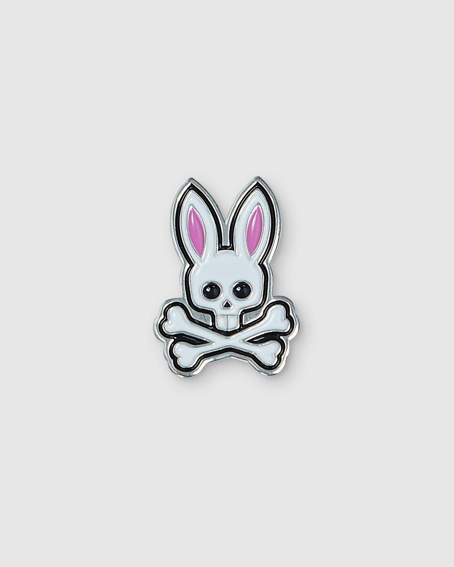 Psycho Bunny Logo Pin.