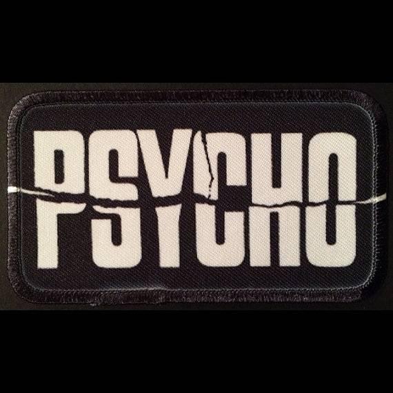 Psycho Logo Patch.