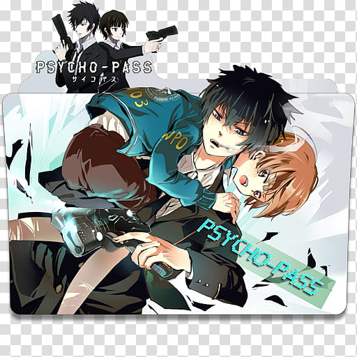 Anime Icon Pack , Psycho Pass transparent background PNG.