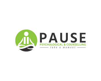 Pause Psychological and Counselling Logo Design.