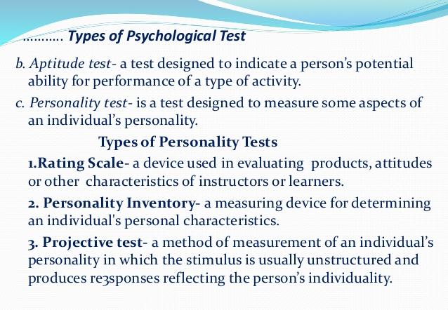 Psychological Test Clip Art.